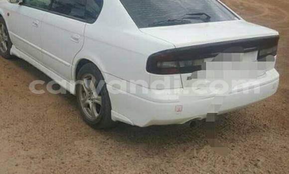 Buy Used Subaru Legacy White Car in Lusaka in Zambia