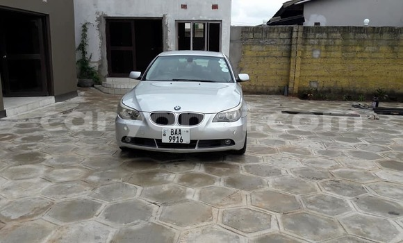 Buy Used BMW 5-Series Silver Car in Lusaka in Zambia