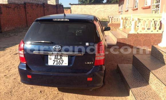 Buy Used Toyota Wish Blue Car in Lusaka in Zambia