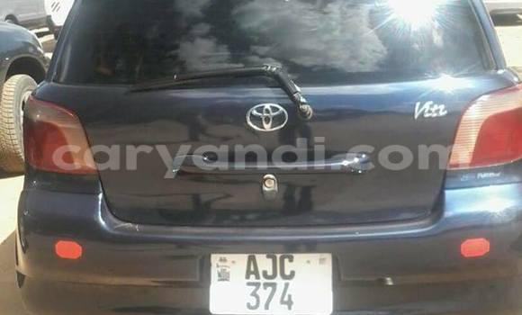 Buy Used Toyota Vitz Black Car in Lusaka in Zambia