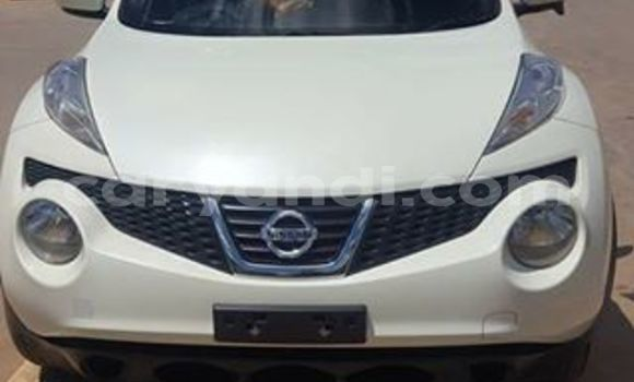 Buy Used Nissan Juke White Car in Lusaka in Zambia
