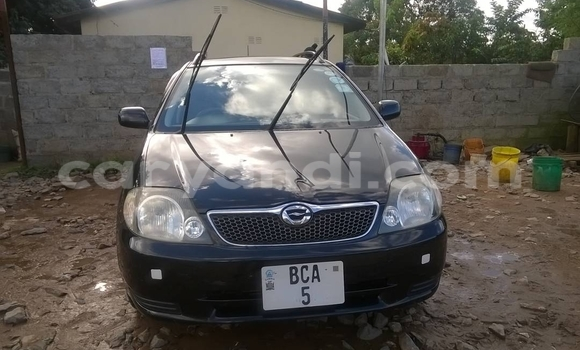 Buy Used Toyota Corolla Black Car in Ndola in Zambia