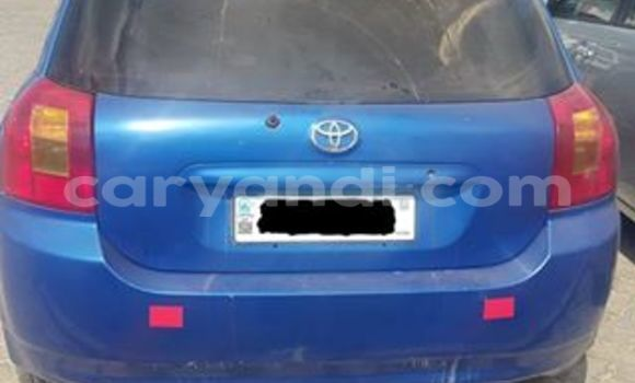 Buy Used Toyota Runx Blue Car in Lusaka in Zambia