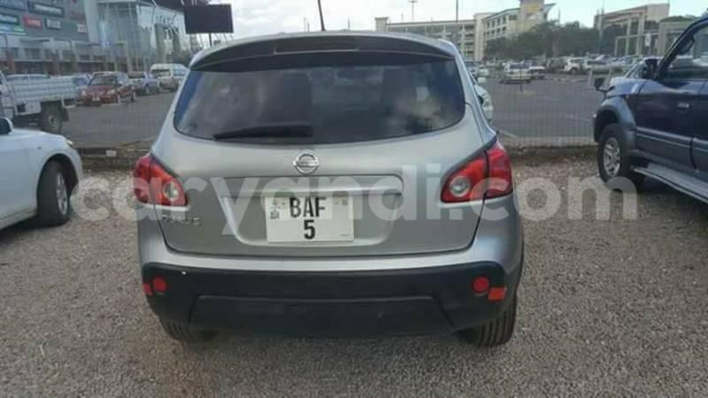 Buy Used Nissan Qashqai Silver Car in Lusaka in Zambia - CarYandi
