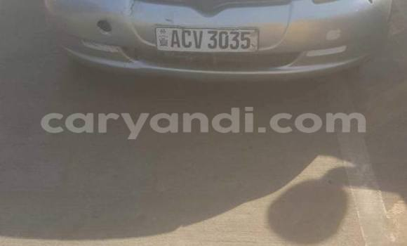 Buy Used Toyota Vitz Silver Car in Lusaka in Zambia