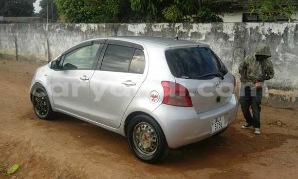 Buy Used Toyota Vitz Silver Car in Lusaka in Zambia