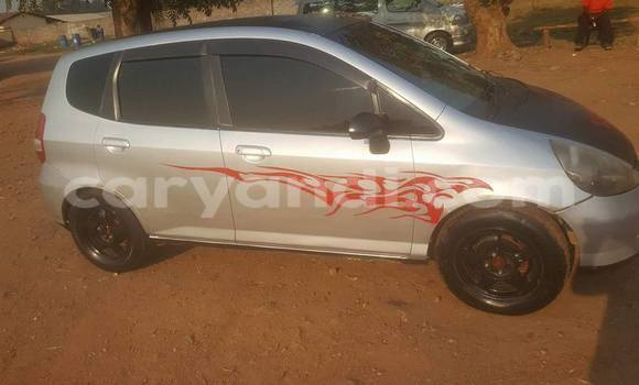 Buy Used Honda FIT Silver Car in Lusaka in Zambia