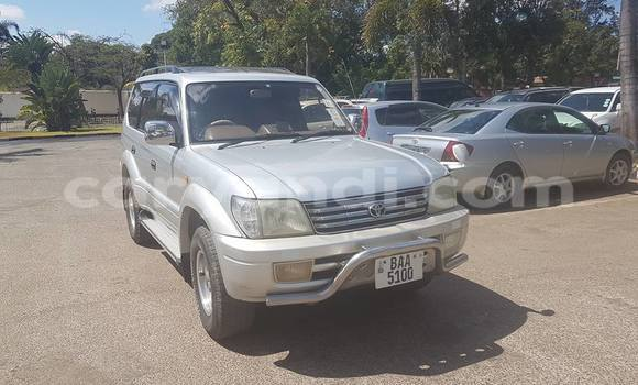 Buy Used Toyota Land Cruiser Prado Silver Car in Lusaka in Zambia