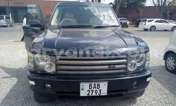 Buy Used Land Rover Range Rover Vogue Black Car in Lusaka in Zambia