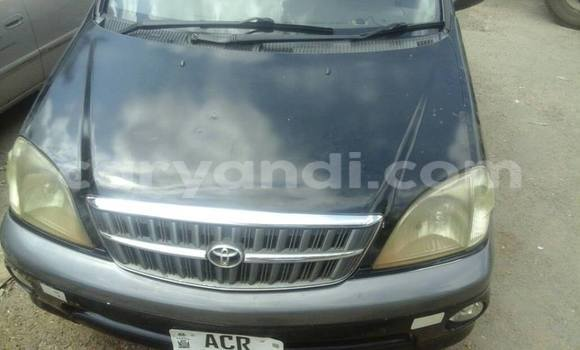 Buy Used Toyota Nadia Black Car in Lusaka in Zambia