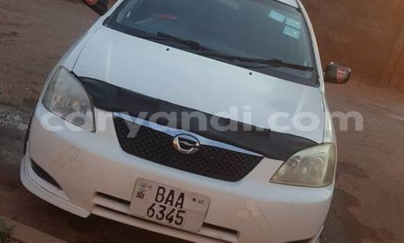 Buy Used Toyota Allex White Car in Lusaka in Zambia