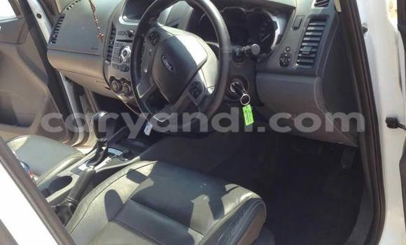 Buy Used Ford Ranger White Car in Lusaka in Zambia