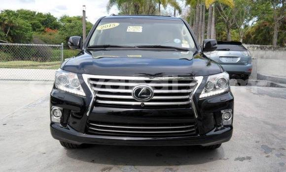 Buy Used Lexus LX Black Car in Lusaka in Zambia