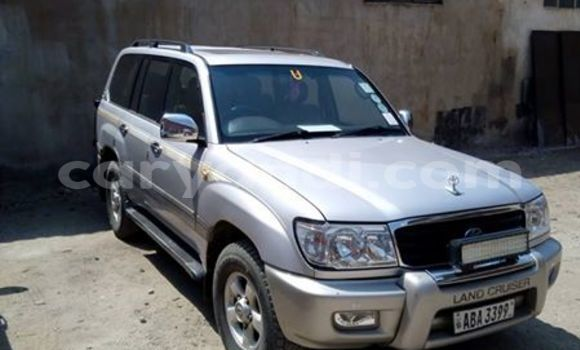 Buy Used Toyota Land Cruiser Silver Car in Lusaka in Zambia
