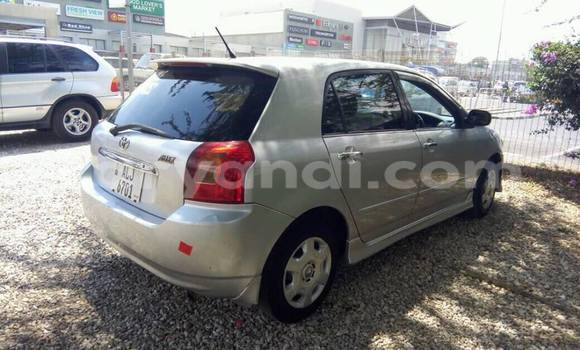Buy Used Toyota Allex Silver Car in Lusaka in Zambia