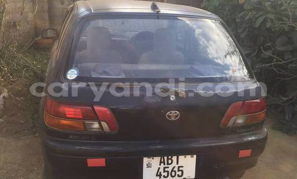 Buy Used Toyota Starlet Black Car in Lusaka in Zambia