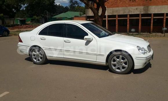 Buy Used Mercedes-Benz C-Class White Car in Lusaka in Zambia
