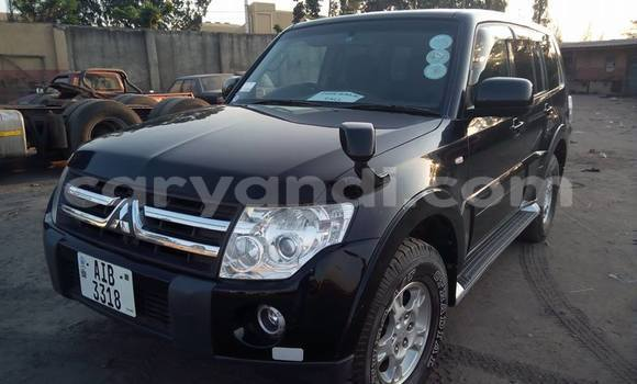 Buy Used Mitsubishi Pajero Black Car in Lusaka in Zambia
