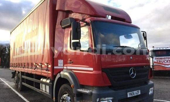 Buy New Mercedes–Benz Truck Red Truck in Lusaka in Zambia