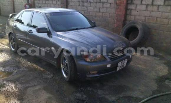 Buy Used Toyota Altezza Black Car in Lusaka in Zambia