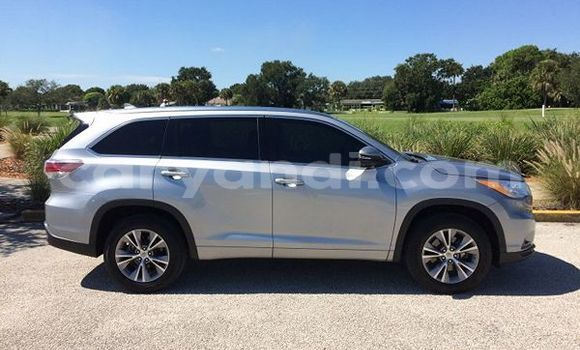 Buy Used Toyota Highlander Silver Car in Livingstone in Zambia