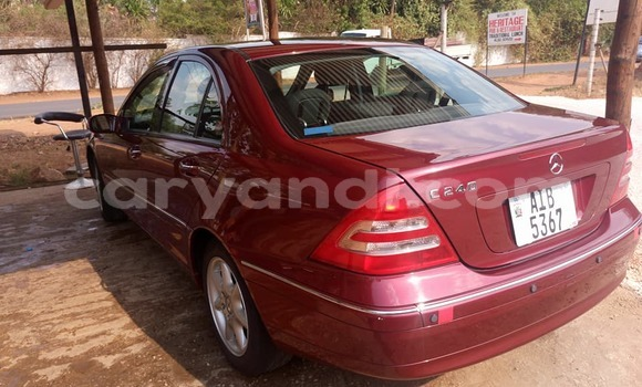 Buy Used Mercedes-Benz C-Class Red Car in Lusaka in Zambia
