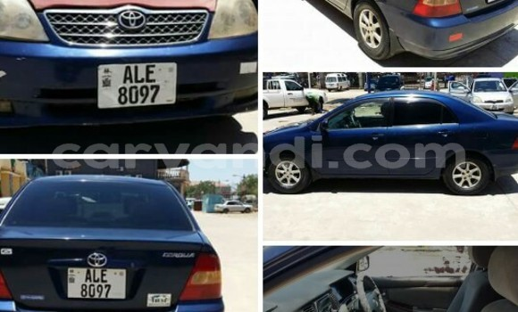 Buy Used Toyota Corolla Blue Car in Lusaka in Zambia