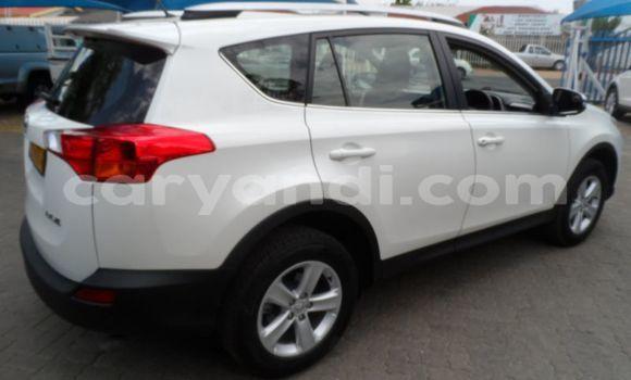 Buy Used Toyota RAV4 White Car in Lusaka in Zambia
