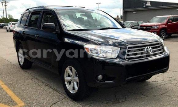 Buy Used Toyota Highlander Black Car in Lusaka in Zambia