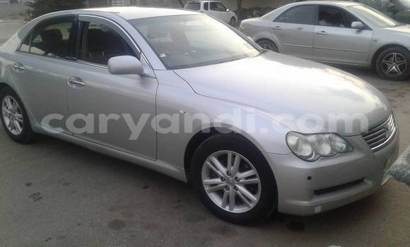 Buy Used Toyota Mark X Silver Car in Lusaka in Zambia