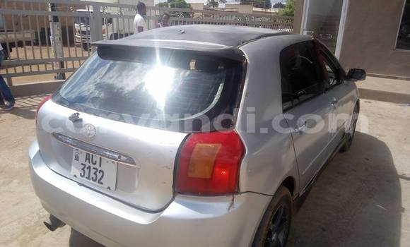 Buy Used Toyota Allex Silver Car in Chipata in Zambia