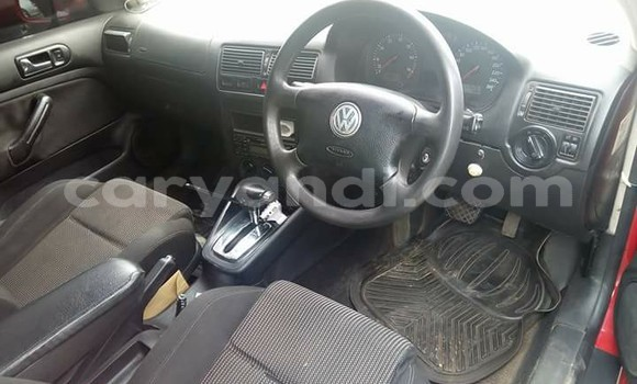 Buy Used Volkswagen Golf Red Car in Chipata in Zambia