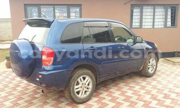 Buy Used Toyota RAV4 Blue Car in Chipata in Zambia