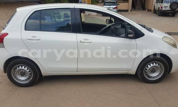 Buy Used Toyota Vitz White Car in Chipata in Zambia