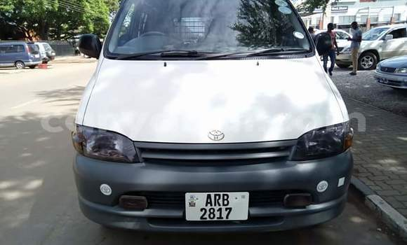 Buy Used Toyota Hiace White Car in Lusaka in Zambia