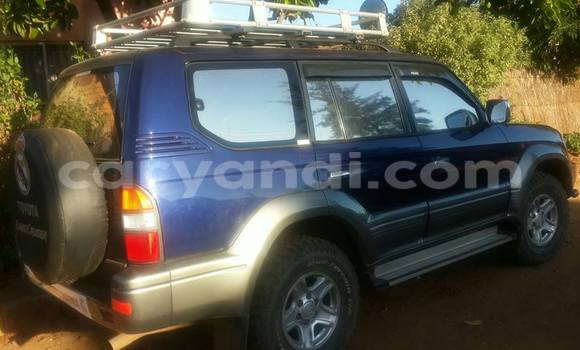Buy Used Toyota Land Cruiser Prado Blue Car in Chingola in Zambia