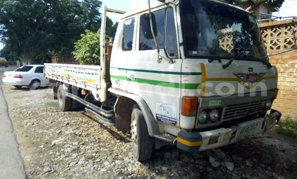 Buy Used Toyota Canter White Car in Lusaka in Zambia