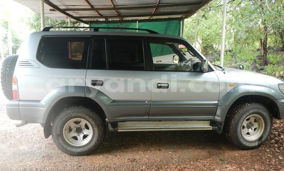 Buy Used Toyota Land Cruiser Prado Silver Car in Livingstone in Zambia