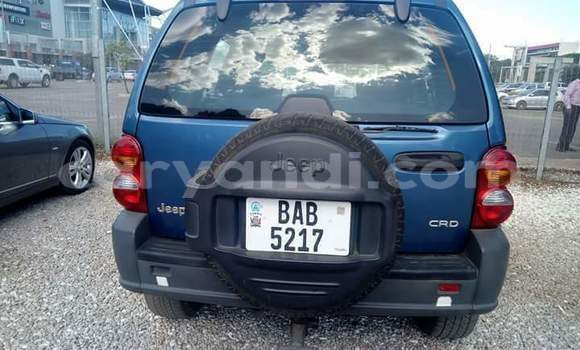 Buy Used Jeep Cherokee Blue Car in Lusaka in Zambia