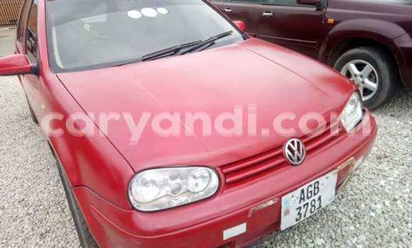 Buy Used Volkswagen Golf Red Car in Ndola in Zambia