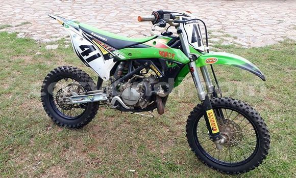Buy Used Kawasaki KX 85 Green Moto in Lusaka in Zambia