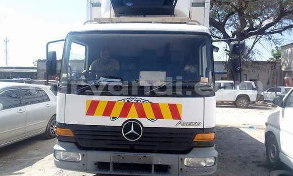 Buy New Mercedes-Benz Truck White Truck in Lusaka in Zambia