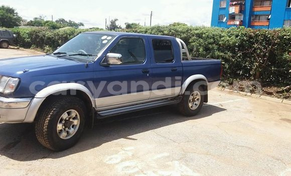 Buy Used Nissan Hardbody Blue Car in Lusaka in Zambia